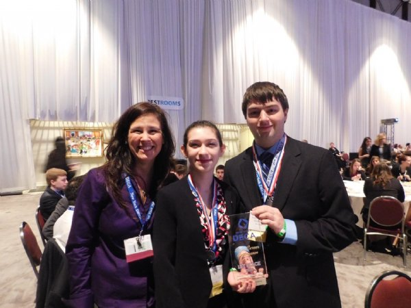 Rachel Vaughan Wins First Place in New York State in the International DECA Competition